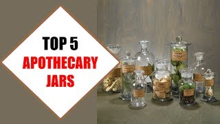 Top 5 Best Apothecary Jars 2018 | Best Apothecary Jar Review By Jumpy Express
