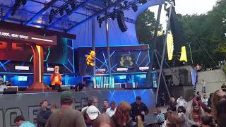 Tourfinale von Mario Barth in der Berliner Waldbühne - Pause