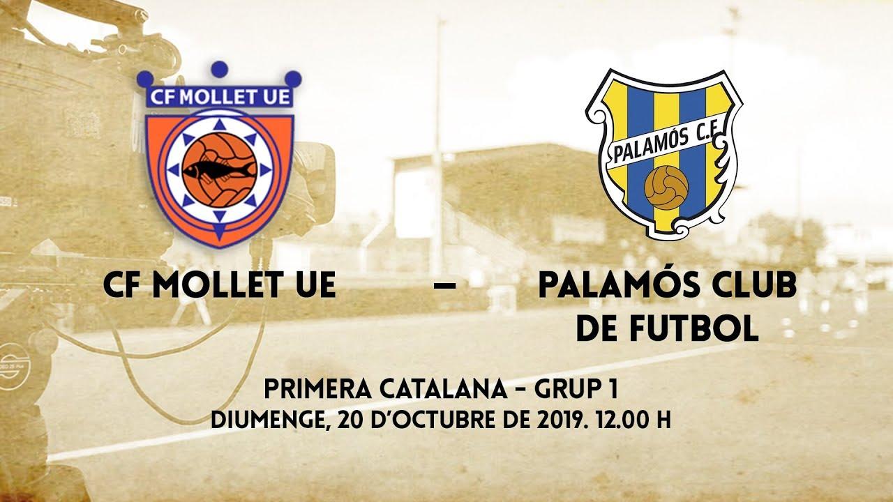 nuevo autentico en venta fecha de lanzamiento: CF Mollet UE - Palamós Club de Futbol (1a Catalana - G1)