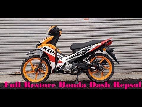 Project Restoration | Full Restore Honda Dash Repsol In 9 Minute