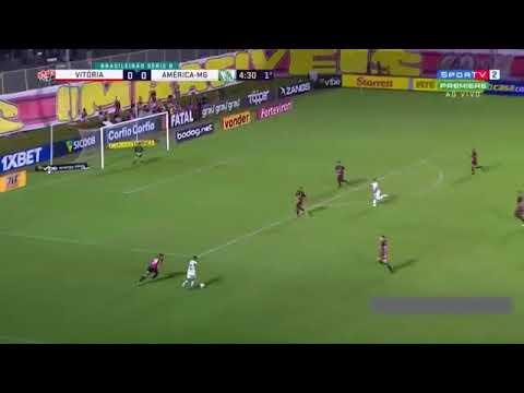 Vitoria 0 x 0 america mineiro melhores momento  21/08/2019