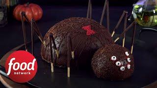 Spider Cake Surprise | Halloween Wars | All New Sunday 9|8c