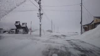 2018/2/13 青森県つがる市木造丸山~木造朝日 付近