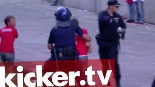 Polizeigewalt in Portugal: Fan vor dessen Kindern verprügelt - kicker.tv