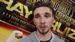 ADRIAN MARTIN ON SPARRING JOSH TAYLOR, FIGHTING ON JOYCE v LEWISON UNDERCARD & WIN ON MTK CARD