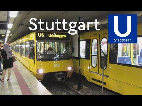 Stuttgart U Bahn >> Stadtbahn Stuttgart, U-Bahn Hauptbahnhof - YouTube