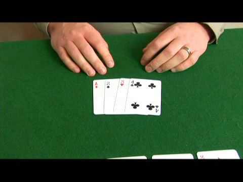 Omaha Hi-Lo Poker: Ace, 2, 3, 4 Hand