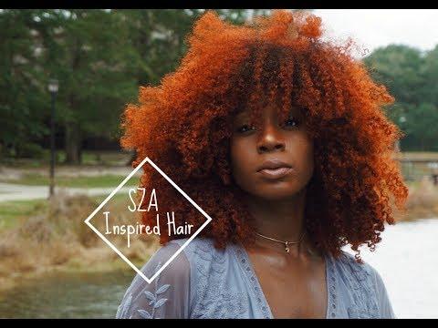 Diy Ginger Orange Copper Hair Color Sza Inspired