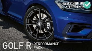 Golf R Performance Pack - Everything You Need To Know