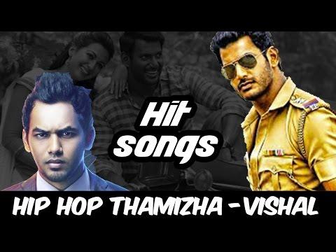 'Vishal - Hiphop Tamizha' Hits Music Box   Aambala, Kathakali   V Music