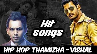 'Vishal - Hiphop Tamizha' Hits Music Box | Aambala, Kathakali | V Music