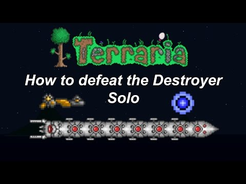Terraria ios | How to defeat the Destroyer Solo