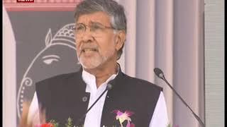 विजयदशमी और आरएसएस के स्थापना दिवस समारोह में मुख्य अतिथि के तौर पर कैलाश सत्यार्थी का संबोधन