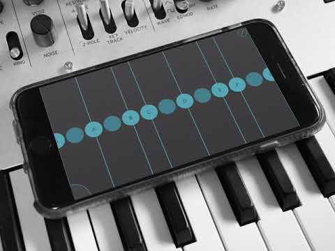 Ribbons - Ondes Martenot Inspired iOS App