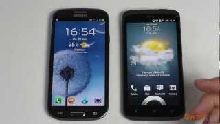 Samsung Galaxy S3 vs. HTC One X | SwagTab