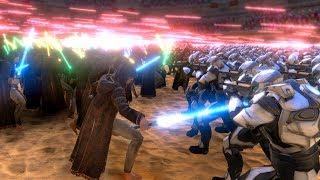 JEDI CLONE WAR!!! | Ultimate Epic Battle Simulator HD