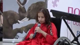 Девочка с ограниченными возможностями и сильным голосом круто спела песню Аллы Пугачевой.