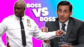 Captain Holt VS Michael Scott: The Great Comedy Boss-Off | Comedy Bites