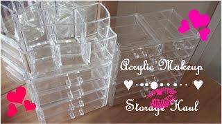 Acrylic Makeup Storage Hual 2014