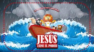 Jesús Tiene El Poder - La Patrulla del Rey | Canciones Infantiles (Vídeo de Letras)