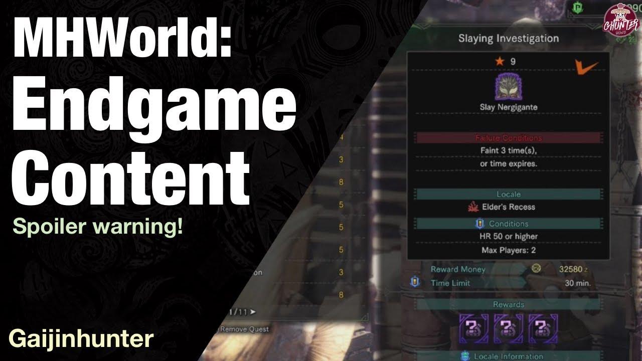 Here's what the endgame looks like - Monster Hunter: World - Giant Bomb