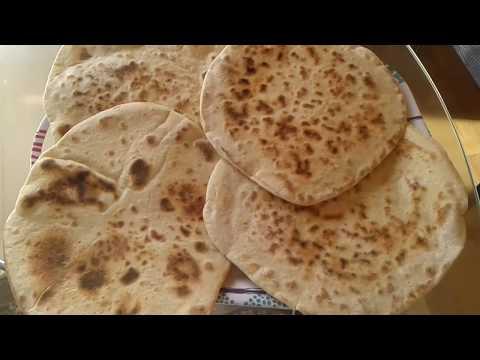 Receta Pan árabe Libanes/ الخبز اللبناني