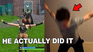 Every KILL I get my TEAMMATE does a Fortnite Dance IRL...