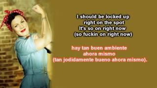 P!nk - Raise Your Glass Ingles/Español
