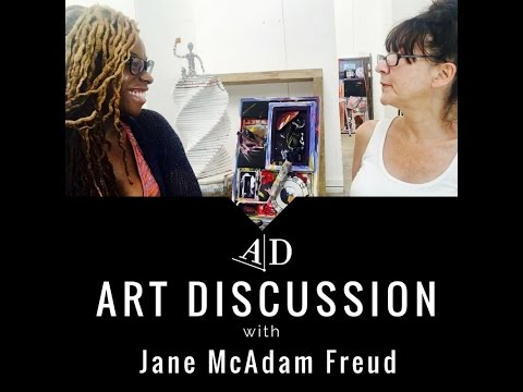 Jane McAdam Freud, Art Discussion: In Conversation with Adelaide Damoah