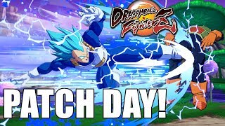 It's Patch Day!! Testing Out the Changes to Dragon Ball FighterZ!