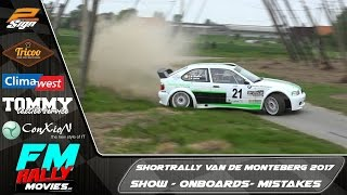 Shortrally v/d Monteberg 2017 | Show - Mistakes - Onboards [HD]