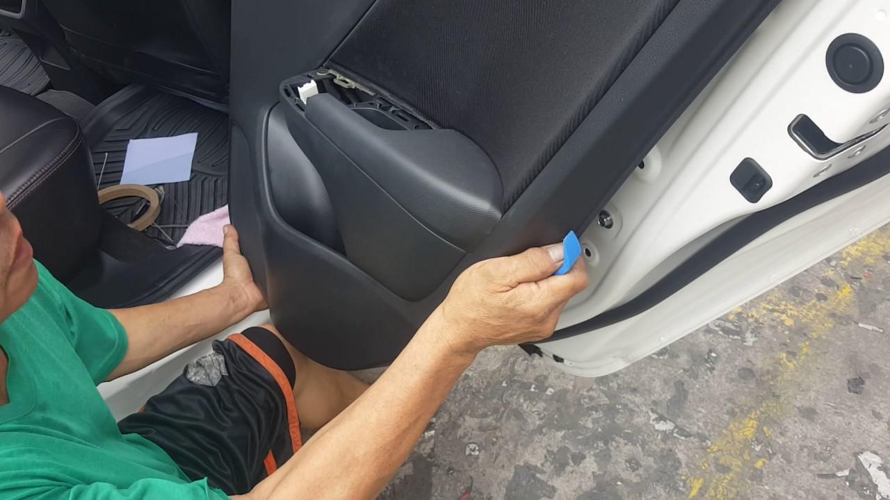 Jeff Tan Tutorial Honda City Rear Door Panel Removal Youtube Accord Power Window Diagram