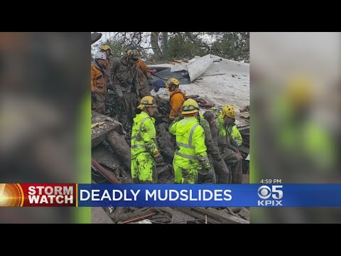 Death Toll From Fatal Santa Barbara County Mudslides Climbs