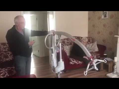 Danny Sloggett Vision How to assemble a disabled person  Molift Hoist