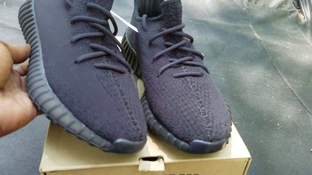 Triple Blacc Adidas Yeezy Boost 350 v2 Sample Shoe Ratchet Review ... 106123697ad4d