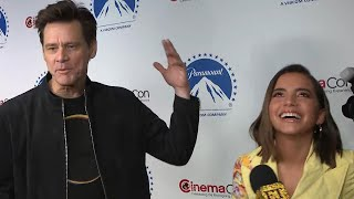 Watch Isabela Moner FREAK OUT Meeting Jim Carrey