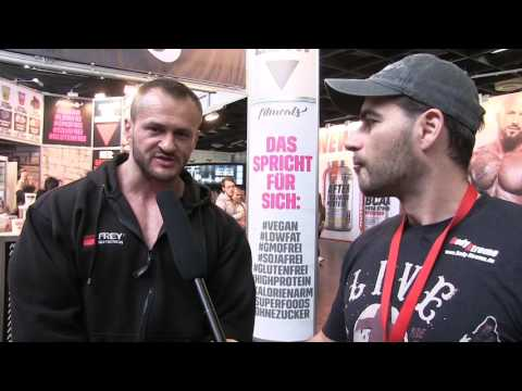 Athleten auf der FIBO Power 2017 - Posing & Interview