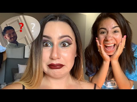 Did my MAKEUP horrible to see how my husband & Family would react! thumbnail