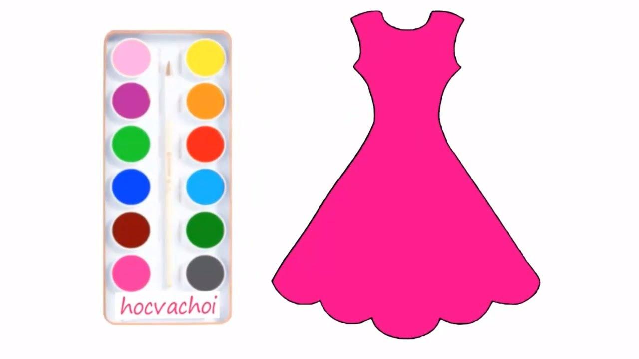 vẽ áo và váy đơn giản cùng bạn bút chì | học và chơi
