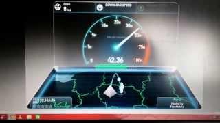 Test Connexion internet - Fibre Optique SFR - le Mans