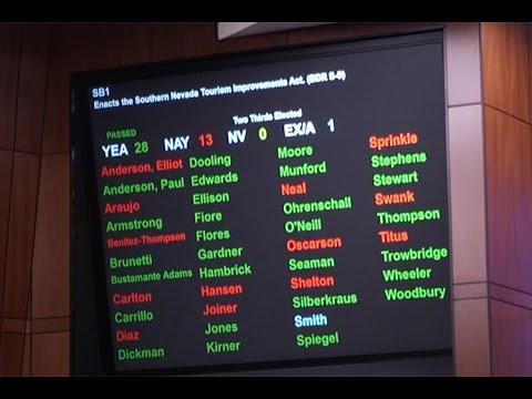 Nevada Legislature passes Raiders stadium bill