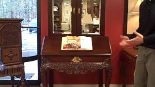 Furniture Spotlight:  Kindel Furniture Mahogany Library Cabinet - Piece Of The Week