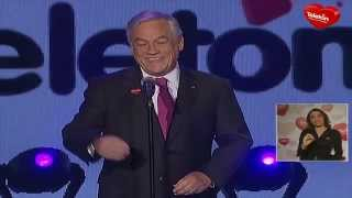 El discurso del Presidente Sebastián Piñera Teleton 2012