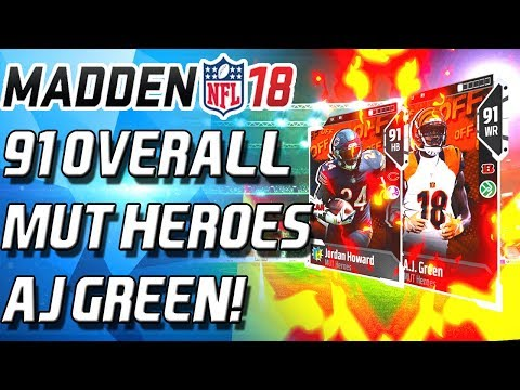 MUTHEROES MEGABUNDLE! 400K PULL! 91 OVERALL! - Madden 18 Ultimate Team