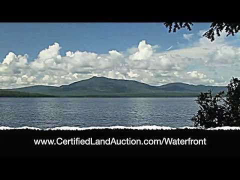 Maine waterfront property for sale at auction-moose head lake