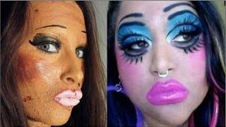 19 девушек, которым лучше не давать в руки косметику