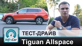 Allspace - новый Tiguan. Volkswagen Tiguan Allspace