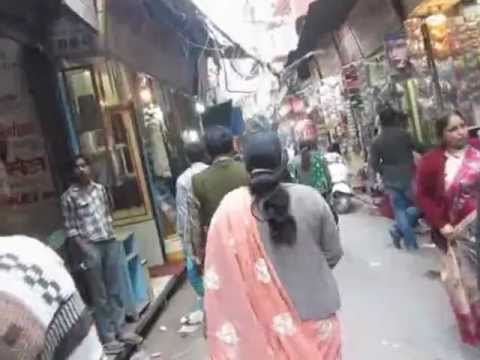 Main Bazar Gulian Chandni Chowk Market New Delhi India