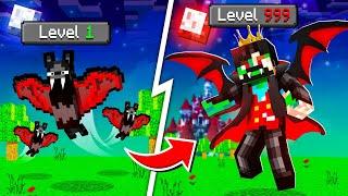 Upgrading VAMPIRE to GOD VAMPIRE in Minecraft!