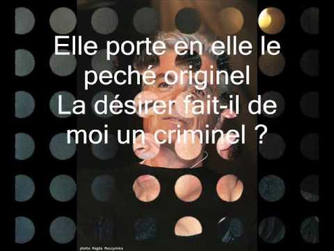 Garou, Daniel Lavoie, Patrick Fiori  Belle parole